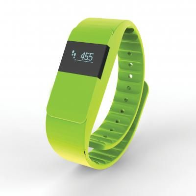 Image of Printed Activity Tracker iOS and Android Compatible. Green