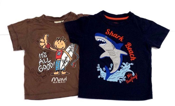 2XBABY BOYS - Brown/Blue Tshirts - 2  MONTHS-JOE FRESH/EARTH NYMPH #JOEFRESHAERTHNYMPH #EverydayHoliday