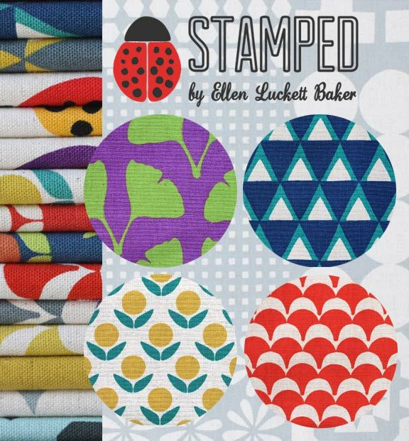 Stamped Collection for Kokka by @Ellen Luckett Baker