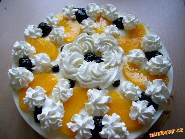 Tvarohový dort za studena