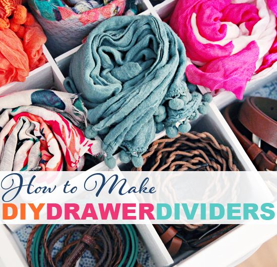 How to Make DIY Drawer Dividers - IHeart Organizing