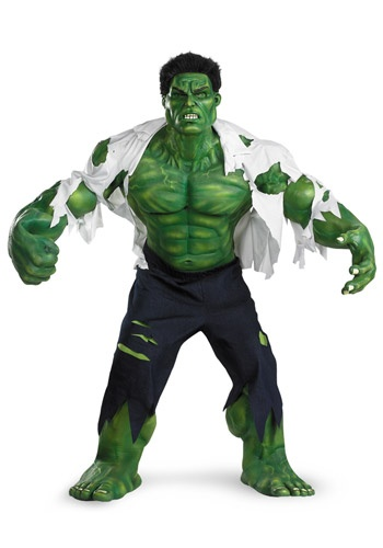 Super Deluxe Incredible Hulk costume #Halloween #Avengers