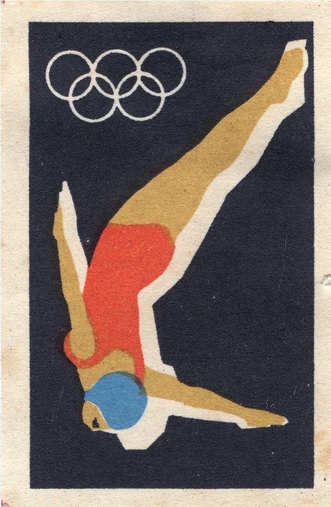 Cartazes Olímpicos são uma paixão antiga minha, olha que joia eu achei