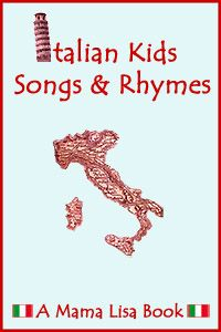 Italian Kids Songs and Rhymes – A Paperback and Kindle Book. For Linda. It may help with remembering some words.