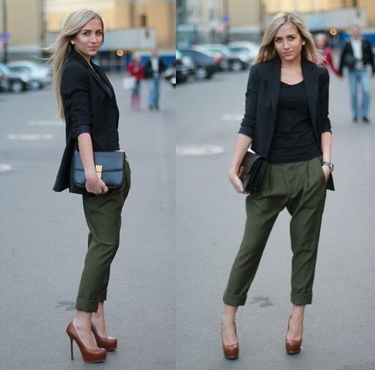 wear to work -- where can I get chinos like this?! #style #fashion #streetstyle