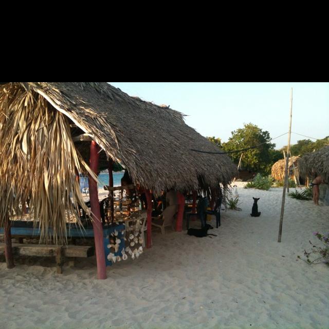 Playa Blanca,Colombia
