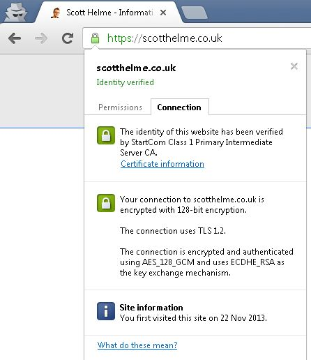 SSL does not make a site secure!