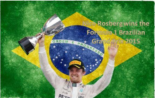 Nico Rosberg wins the Formula 1 Brazilian Grand Prix ~ HeybiroBlog