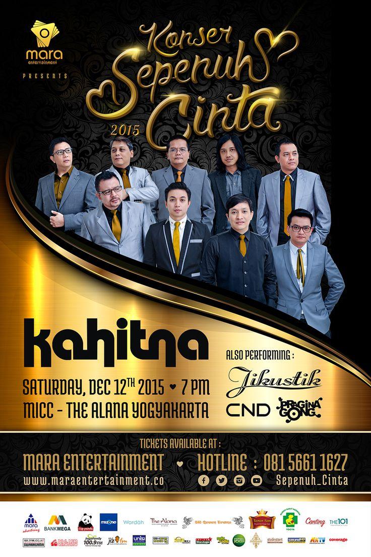 Konser Sepenuh Hati - Kahitna - 12 December 2015