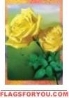 Radiant Roses Garden Flag - 3 left
