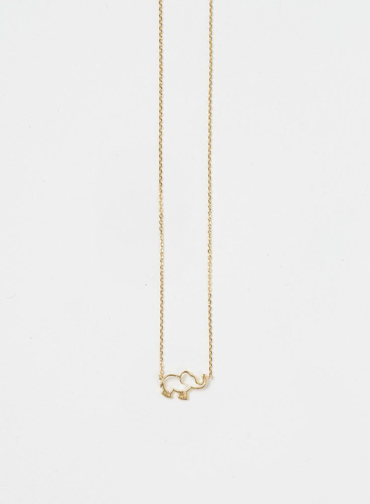 How adorable is this necklace?! We love that our Ellie Elephant Gold Dainty…