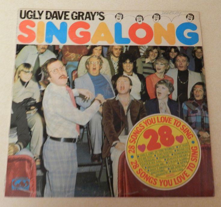 Ugly Dave Gray's Singalong Vinyl Album
