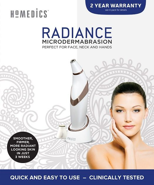 The Radiance Microdermabrasion is a salon grade beauty device designed to use a diamond tip to exfoliate, whilst the vacuum massage removes dead skin. This process in turn, stimulates regrowth of a new layer of skin underneath. Removing the outer layers of skin and replacing them with new ones helps to leave your skin feeling …