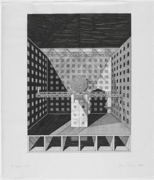 franco purini, drawings, 1976-1979