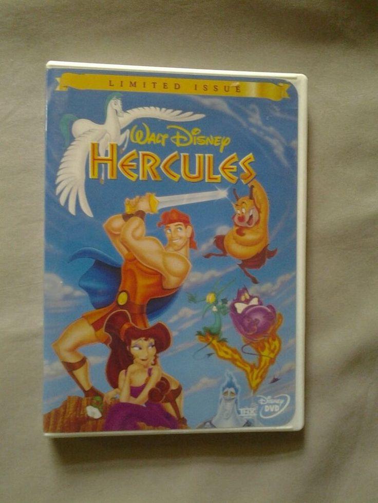 Walt disney hercules limited issue dvd video rare free - Hercule walt disney ...