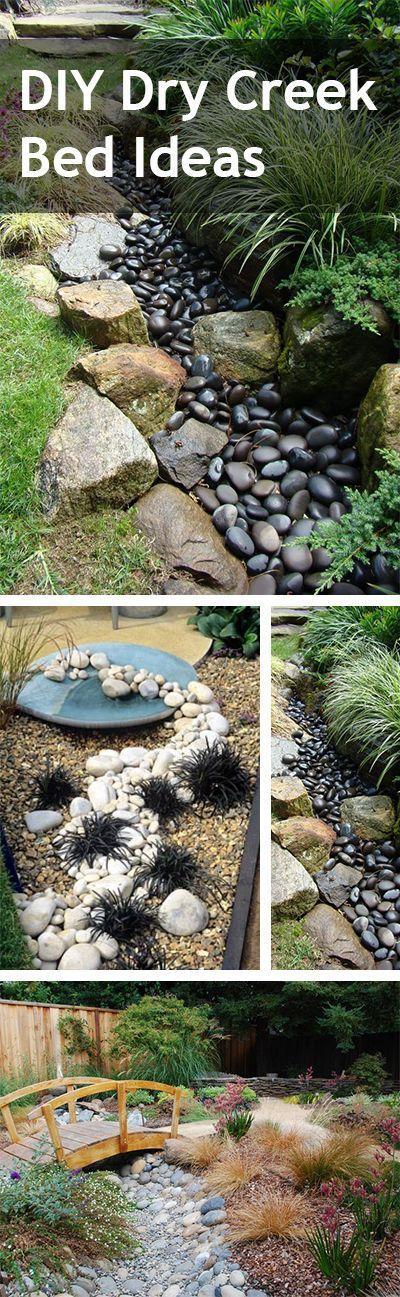 9 best dry creek bed gardens images on pinterest dry creek bed garden ideas and landscaping. Black Bedroom Furniture Sets. Home Design Ideas