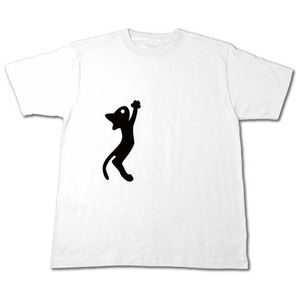 黒猫ジャンプTシャツ