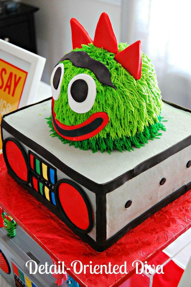 74 best ideas about birthday cake s for twin s yo detail oriented diva yo gabba gabba cake
