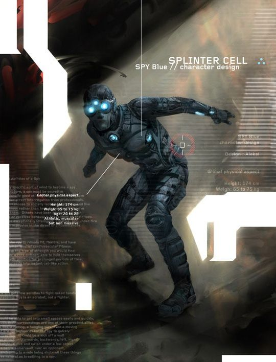 splinter cell spy 02 author aleksi briclot - Splinter Cell Halloween Costume