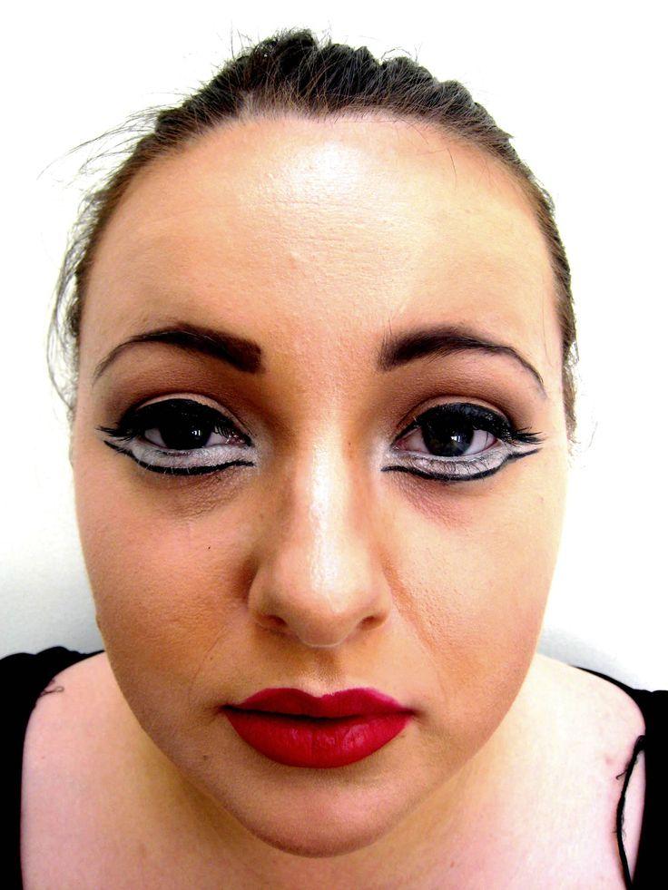 makeup artist resume%0A Red Eyeshadow Makeup Tutorial