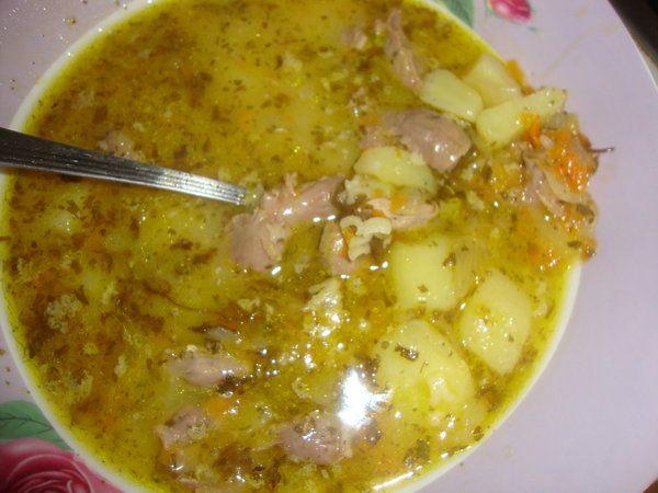 Ciorba de pui cu cartofi - Bucataria cu noroc