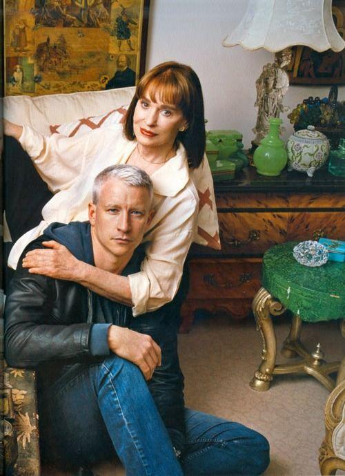 Anderson Cooper and mother, Gloria Vanderbilt