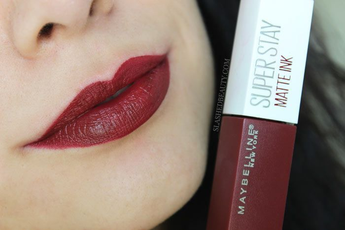 You don't have to splurge to find a great lipstick. Here are the best drugstore liquid lipsticks-- updated! Featuring the Maybelline Super Stay Matte Ink.   Slashed Beauty