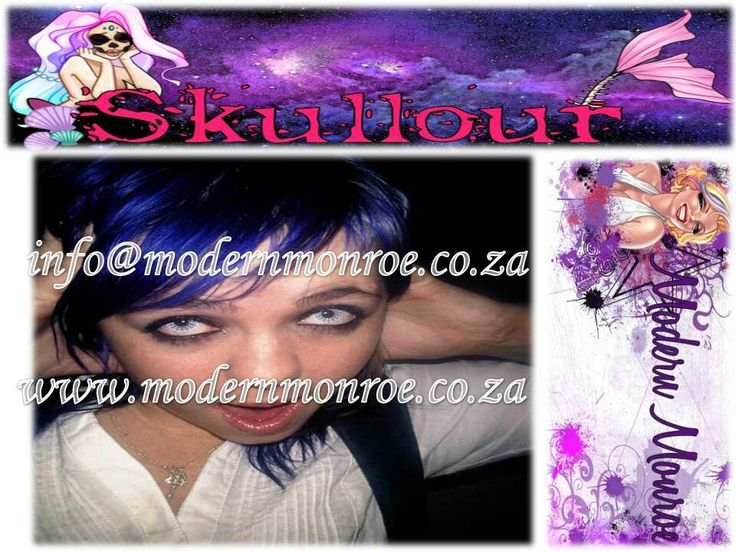 Dark blue Skullour hair dye. Skullour is a vegan friendly, cruelty free product that delivers long lasting beautiful results. For more info http://www.modernmonroe.co.za/index.php/online-shop/category/view/2