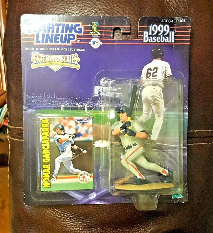 NOMAR GARCIAPARRA 1999 STARTING LINEUP UNOPENED Action Figure Card MLB Red Sox #Kenner
