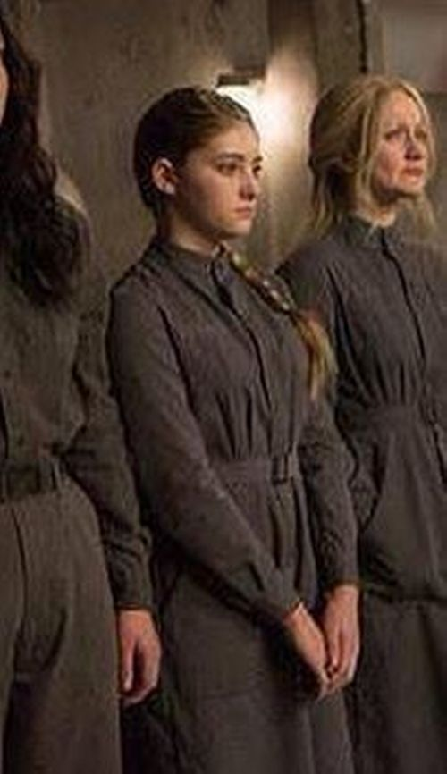 kurt and bart costume designer custom made womens coveralls as seen on primrose everdeen - Primrose Everdeen Halloween Costume