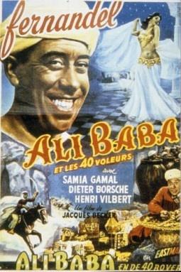 Ali Baba et les 40 voleurs –  film de Jacques Becker - 1954
