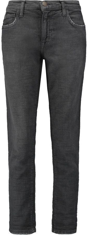 Current/Elliott The Fling low-rise boyfriend jeans
