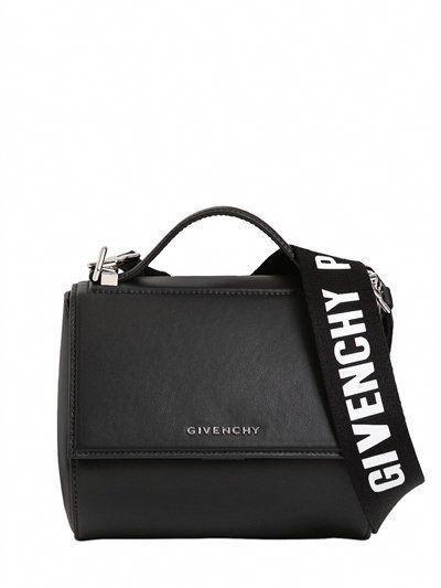 a93ff36c53 GIVENCHY Mini Pandora Box Leather Bag W  Strap
