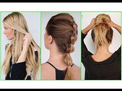 Einfache Haar Tutorials für lange Haare