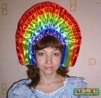 Детский новогодний костюм радуга