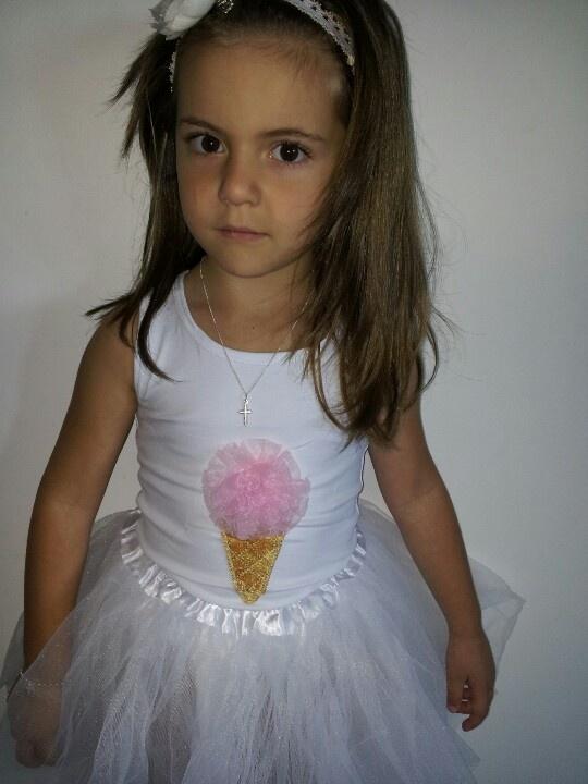 Ice cream tutu set. Www.ittybittybox.com.au