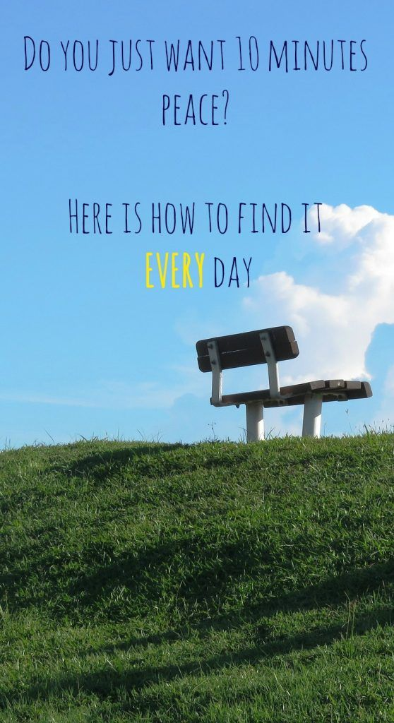 5 ways to find 10 minutes peace EVERY day | Clear & Inspired thinking for  better emotional wellbeing. We all need peace in our busy lives and finding peace for our souls to refresh and renew is really important. Here is a guide to finding time for me time and making the most of it