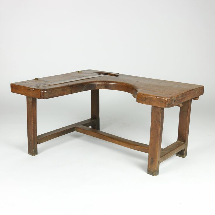 Bespoke Vintage Indudstrial. French Shoe Cobbler's Bench.  A charming French walnut cobbler's bench circa 1890 with copper and brass detail http://www.gardencourtantiques.com/shop/french-walnut-cobblers-bench/ #primitive #rustic #industrial #industrialdesign #industrialdecor #vintagebench #homedecor #cobblersbench #sf #sanFrancisco #instainteriordesign #bespokeinteriors #bespoke #bespokevintage #designgoals #instainterior #interiors #instainterior #interiordesignideas #vintage #antiques…
