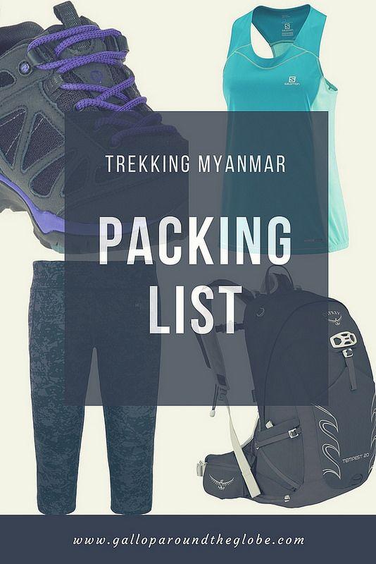 Trekking Myanmar_ A Packing List -