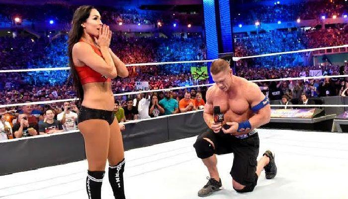 Watch John Cena And Nikki Bella Talk WrestleMania Engagement On The Today Show