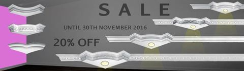 MESMO A TERMINAR... ALMOST FINISHING... PRESQUE TERMINANT... #SALES! 20% OFF  #Cantos para Sanca... #Crown Moulding Corners... #Couronne Coin de Moulage... Até 30 de Novembro 2016. Until 30Th November 2016 Jusqu'à 30 Novembre 2016.  #euamogesso