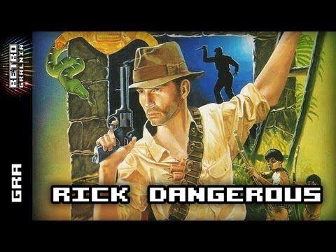 ▶ Rick Dangerous - Recenzja - Commodore 64 - Retrogaming - YouTube