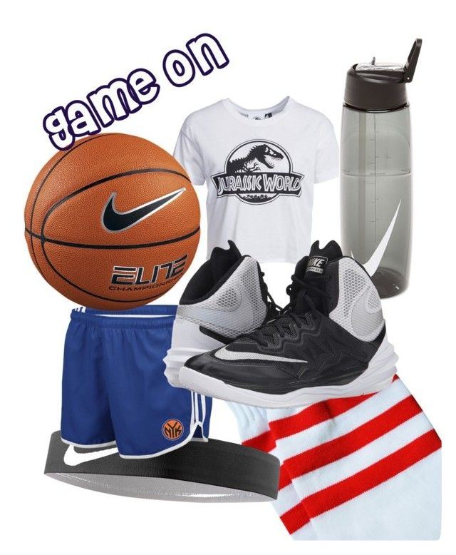 """""""Game on."""" by love-eve13 on Polyvore featuring New Look, NIKE and adidas"""
