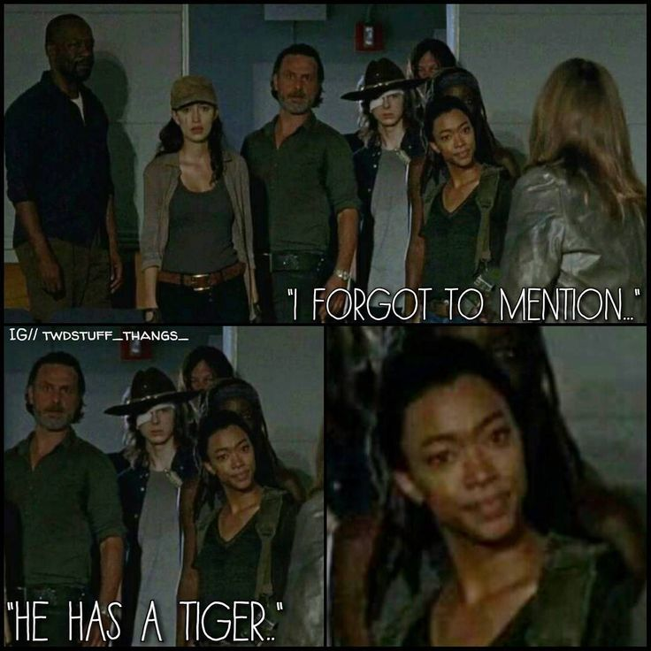 "Sasha's like ""Yeah, you did fool!"" The Walking Dead ""Rock in the Road."" Season 7, Episode 9"