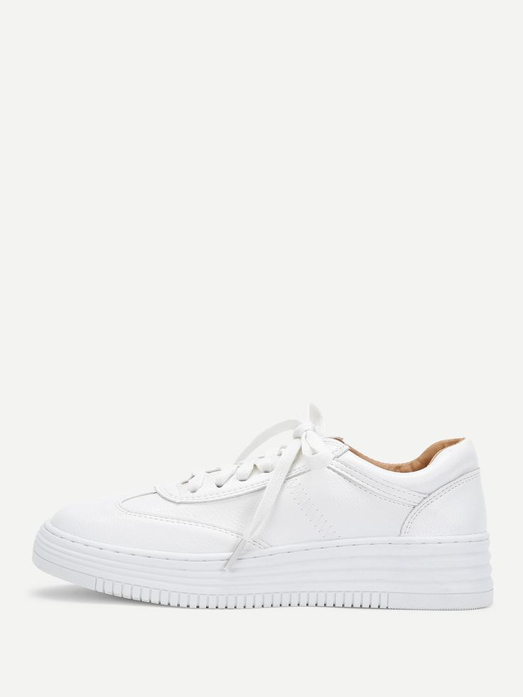 Shop Lace Up Slip On Sneakers online. SheIn offers Lace Up Slip On Sneakers & more to fit your fashionable needs.