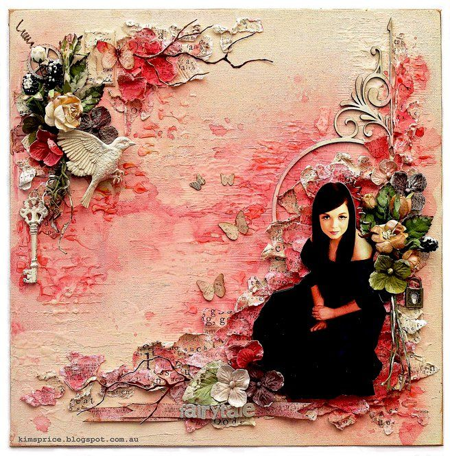 Fairytale - A Mixed Media Canvas