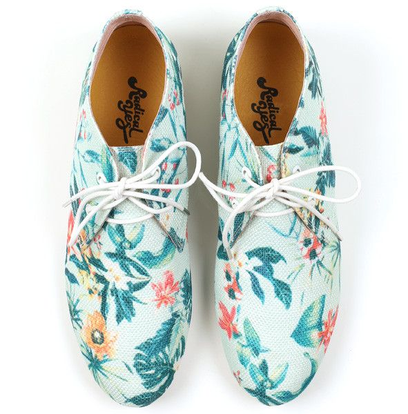 Radical Yes 'Move & Be Moved' Mint Tropical Print Bootie