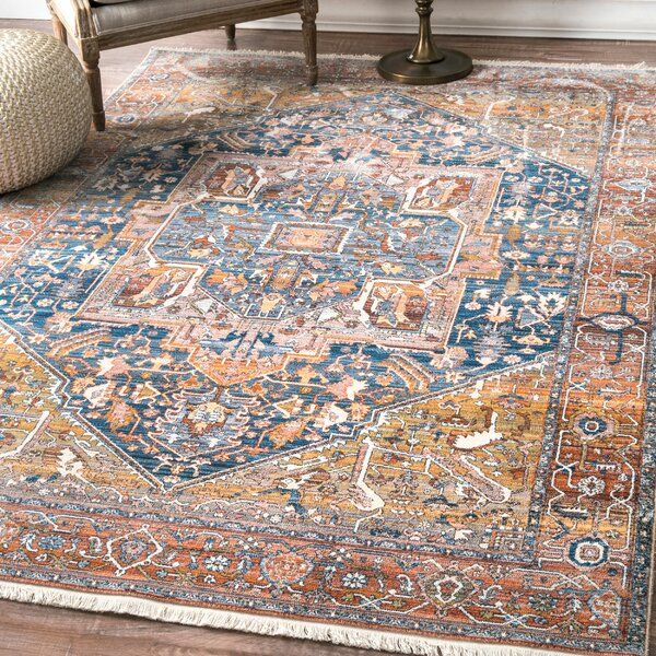 Warming Up Hardwood And Tile Floors While Setting The Stage For The Rest Of Your Ensemble Area Rugs Are Essential For Area Rugs Orange Area Rug Navy Area Rug