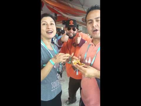 Poutine Creole at #SOBEWFF in Miami - YouTube