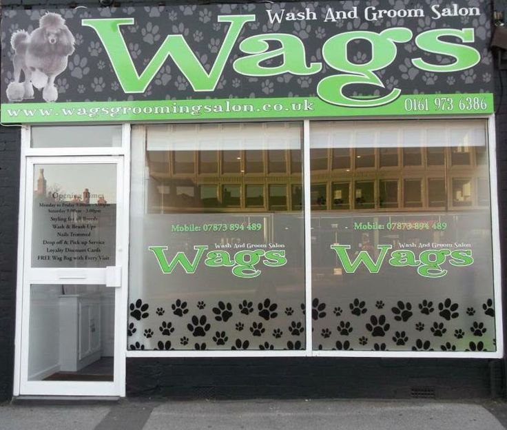Pinned from wags wash and groom for A wagging tail pet salon